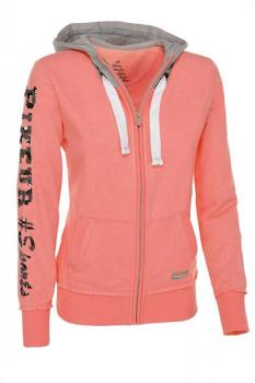 Frini Sweat Jacke peach  gr. 38